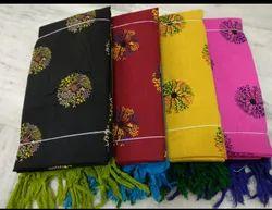 Cotton Slub Prints Dress Materials