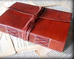 Handmade Leather Diaries, Paper Diaries, Leather Journals, Leather Notebooks, Vintage