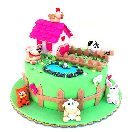 Remarkable Kids Birthday Cake At Rs 750 Kilogram Birthday Cake Personalised Birthday Cards Beptaeletsinfo