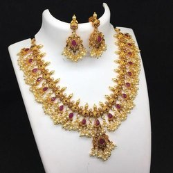 Copper Golden Artificial Jewellery