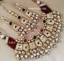 Multicolor Satyam jewellery Nx Artificial  Necklace Set