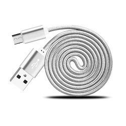 Metallic USB Data and Charging Cable