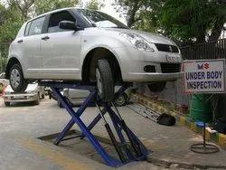 Car Service Lift - Scissor Type