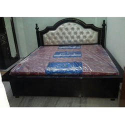 Upholstered Wooden Bed