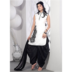 Hari Om Cotton Patiala Suit, Handwash