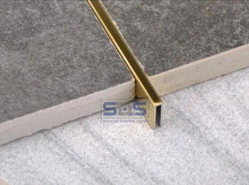 External Stainless Steel Tile Trim Profiles At Rs 950 Piece Tile Trim Id 22233948248