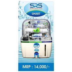 Plastic SRS Smart RO Water Purifier