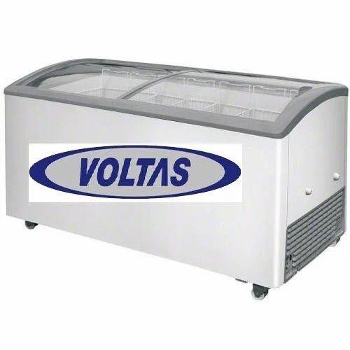 Voltas Curved Glass Top Freezer At Rs 32690 Piece Kasba