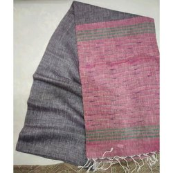 6 m (with blouse piece) Plain Ladies Tussar Silk Saree, Packaging Type: Packet