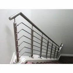 304 Stainless Steel Railing, Mounting Type: Floor