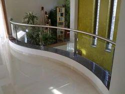 Helical Glass Balcony