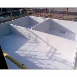 Floor Lining Service Of DM Water Plants Neutralising Tanks And Pits