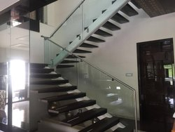Silver SS Railings, For Home