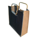 Black Jute Carry Bag