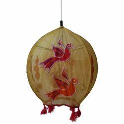 Hanging Cloth Round Lamp