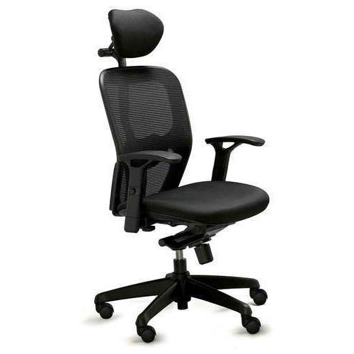 Microfiber Headrest Office Chair Back Rest Adjule Yes