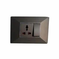 Plastic 16A Modular Switch Board, 1, IP44