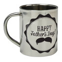 Silver Sublimation Mug (mug Steel), For Many Usage, Size: 11 Oz