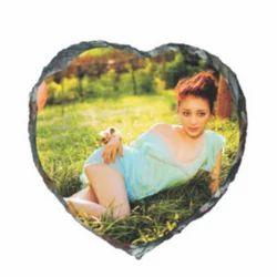 Small Heart Sublimation Stone