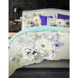 5D Floral Print Double Bed Sheet