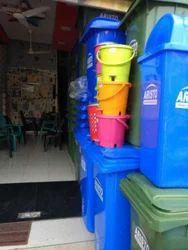 Multicolored Dustbin
