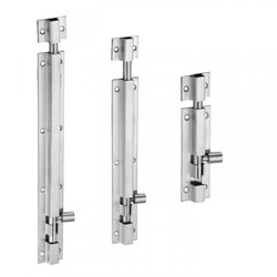 Doors Aluminium Tower Bolt, Chrome