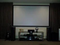 Interlock Projector Screen