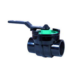 Polypropylene One Piece Top Entry Ball Valve