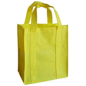 Yellow Loop Handle Non Woven Bag