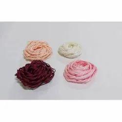 Cotton Multicolor Artificial Satin Flower, For Decoration
