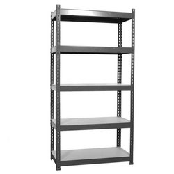 3.5-5.5 ft 5 Tier Stainless Steel Rack, 50-100 kg, for Home, Hotels