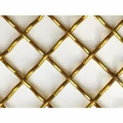 Brass Wire Mesh for Industrial