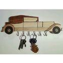 Car Wooden Key Holder