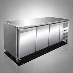 Three Door Under Counter Refrigerator
