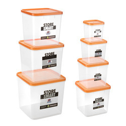 Square Plastic Containers - Square Airtight Plastic Food Container