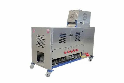 JDC Technology Conveyor Type Commercial Roti Making Machine, Capacity: 1000.0 Chapatis per hour