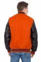 Knit Collar Varsity Jacket
