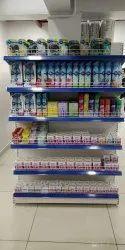 Mild Steel Supermarket Racks