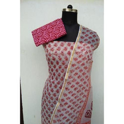 Ladies Chanderi Suit