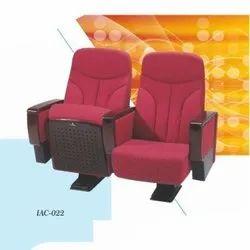 IAC-022 Red Tip Up Auditorium Chair
