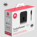 Motorola TurboPower 15 Mobile Wall Charger USB-C Cable SJ5973AP1-C