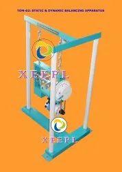 Static & Dynamic Balancing of Rotating Masses Apparatus