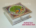Dryfruit Box Meenakari  Medium