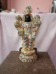 Lord Balaji With Abooshanam  18 Inches