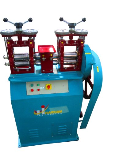 Double Mini Wire Sheet Rolling Machine