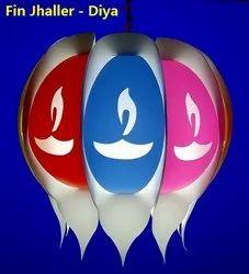 Fin Jhaller - Diwali Diya Lamps