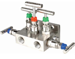Five- Valve Manifold, Direct Mounting - T Type