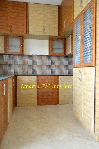 Wood Pvc Interior Works And Modular Kitchen Rs 260 Square Feet