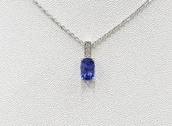 Natural Blue Sapphire Pendants (Neelam)