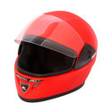 Zora Red Full Face Bike Helmet